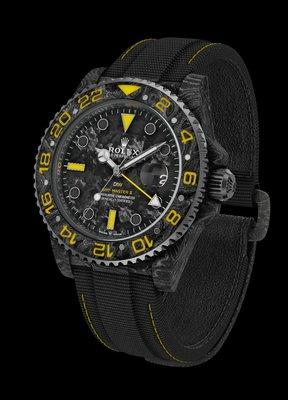 """Rolex DiW [NEW] NTPT Carbon GMT-Master II """"Spyder"""" (Retail: EUR 32490)"""
