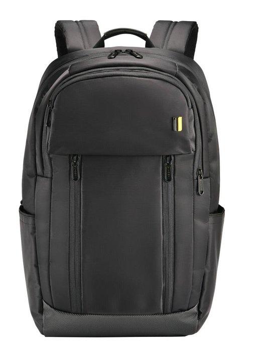 【SUMDEX】SUMDEX PON-161 BK(黑色)都會商務双肩電腦包 16吋