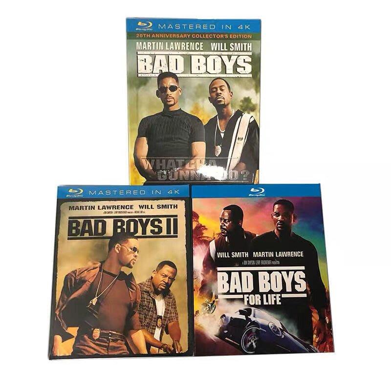 【紅豆百貨】藍光BD 絕地戰警1-3 Bad Boys I-3季未刪減版藍光光碟