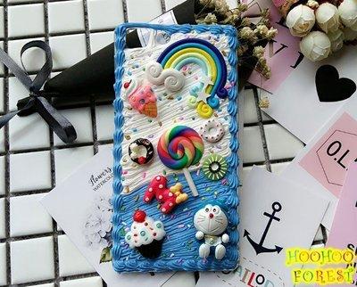 哆啦A夢 小叮噹 OPPO R11 A77 A57 R9s R9s Plus 手工手機殼 手工 手機殼| 呼呼森林