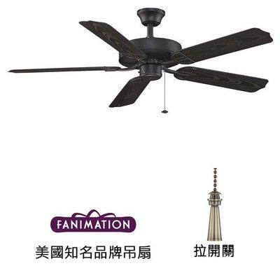 Fanimation Aire D'ecor 52英吋吊扇(BP230BL1)黑色 適用於110V電壓