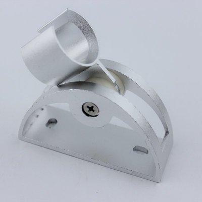 太空鋁可調節花灑支架手持花灑頭金屬固定座淋浴噴頭底座花灑配件【規格有分大小價格】