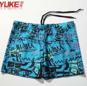 平角時尚款成人男士寬鬆大碼性感速幹游泳褲yhs693