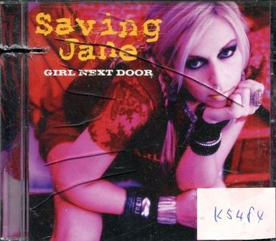 *真音樂* SAVING JANE / GIRL NEXT 二手 K5484 (左殼切痕) (清倉.下標賣2)