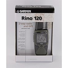 Garmin Rino120 內置對講機功能