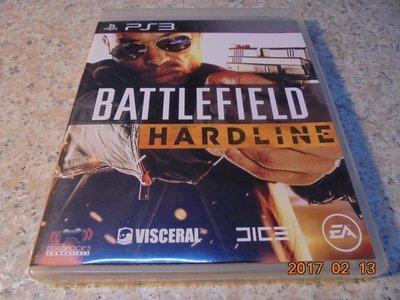 PS3 戰地風雲-強硬路線 Battlefield Hardline 英文版 直購價500元 桃園《蝦米小鋪》