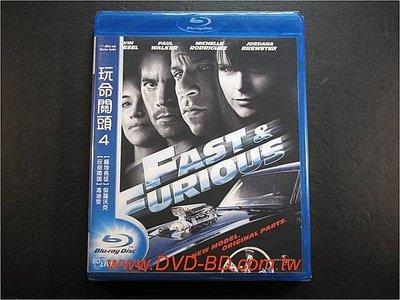 [藍光BD] - 玩命關頭4 Fast & Furious 4 ( 得利環球 )