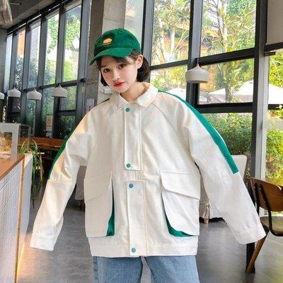 秋短款新款韓版寬鬆百搭學生薄款外套外套...