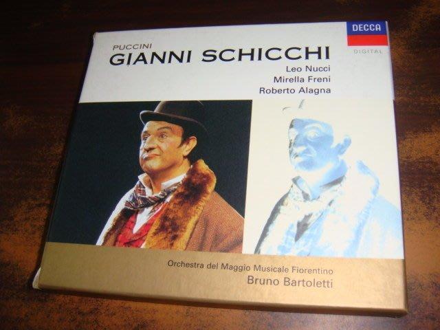 好音悅 半銀圈 Bartoletti Puccini Gianni Schicchi DECCA 德PMDC01版