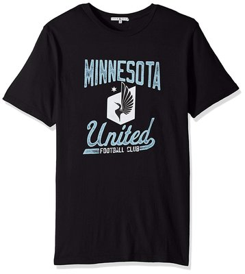 Junk Food 美國職業足球大聯盟 Minnesota United 足球隊 短袖T恤 黑色 XL 台灣未售 全新