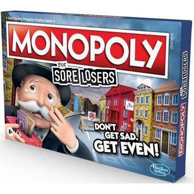 【陽光桌遊】地產大亨 魯蛇翻身版 Monopoly for Sore Losers 英文版 正版桌遊 滿千免運