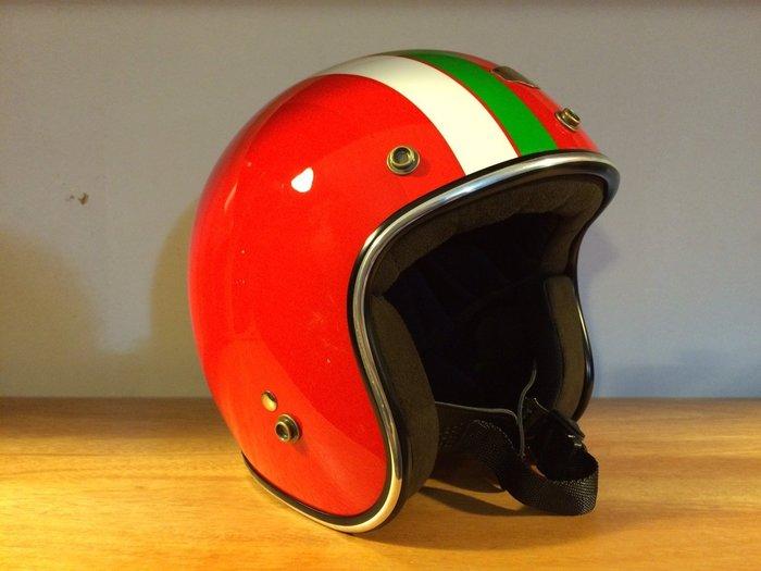 (I LOVE樂多)Air runner彩繪安全帽(紅)義大利配色 喜歡BELL BUCO SHM可參考
