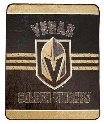 [現貨]NHL國家冰球聯盟毛毯 維加斯金騎士Vegas Golden Knight美式Hockey空調毯午睡交換生日禮品