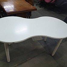 二手家具全省估價(大台北冠均 新五店)二手貨中心--特殊造型書桌 電腦桌 工作桌 8字桌 造型桌 D-0010313