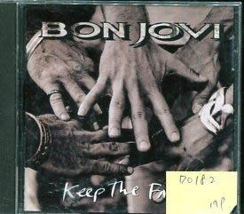 *愛樂二館* BON JOVI / KEEP THE FAITH 二手 D0182