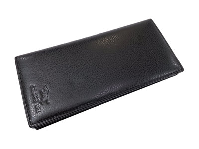 【菲歐娜】7863(特價拍品)CROSS OX (野牛圖騰)長皮夾(黑)
