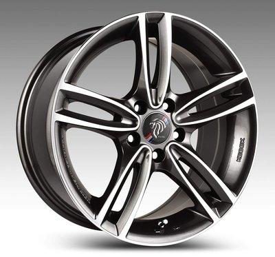 ╭☆輪鋪☆╯ (DP341) 17吋5孔120 BMW E46/E90/F10/F20/F30/MINI 灰車面鋁圈