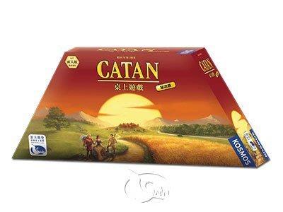 骰子人桌遊-(免運)卡坦島旅遊版 The Settler of Catan Compact(繁) 新增二人規則