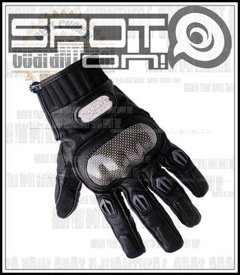 Spot ON - PRO-BIKER MCS01L 賽車碳纖維小羊皮手套✅雙重品質認證!REV'IT 健康日誌洋蔥奶酪