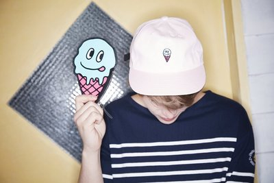 ☆AirRoom☆【現貨】2016 WHITE BLANK Sweet More 6P Ball Cap 老帽 冰淇淋