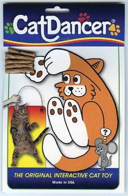 [喵皇帝] 正版 美國 Cat Dancer 貓舞者 互動貓玩具 鋼絲逗貓棒 台中市