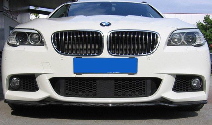 【樂駒】RIEGER BMW 5-series F10 F11 carbon splitter 碳纖維 前下擾流 下擾流