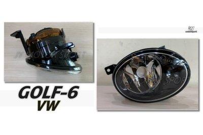 JY MOTOR 車身套件 _ VW 福斯 GOLF 6代 GOLF-6 09 10 11 12 年 原廠型 專用 霧燈