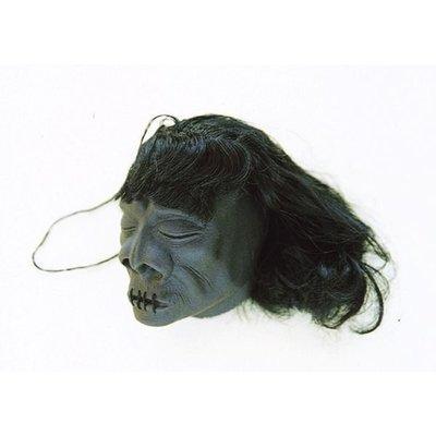 (I LOVE樂多)南美洲shrunken head縮製人頭吊飾