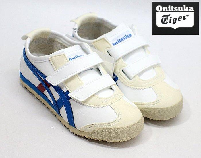 Onitsuka Tiger 兒童款運動休閒鞋 ( 白C4D5Y0143 )