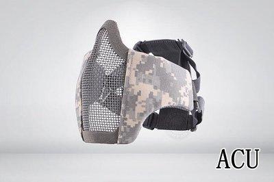 [01] CM1 武士 半罩式 ACU ( 護目鏡眼罩防護罩面罩面具口罩護嘴護具防彈頭套頭巾鳥嘴射擊cosplay