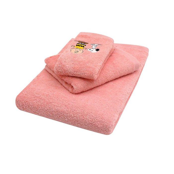 PEANUTS SNOOPY史努比 純棉刺繡方巾毛巾浴巾3入組 免運