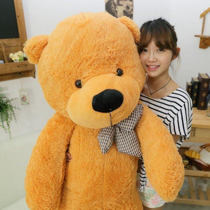 熊玩偶具抱抱熊公仔抱枕小熊狗布娃娃毛絨大號生日禮物女生布(80cm)_☆找好物FINDGOODS☆