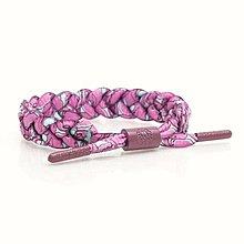 新品上架~雷獅特…RASTACLAT編織手環(粉紫塗鴉)