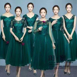 天使佳人婚紗禮服~~~~~~~~~~~ 多款伴娘小禮服晚禮服