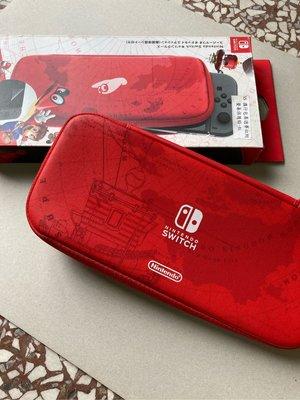 Switch 保護殼 瑪利歐 限定 紅色