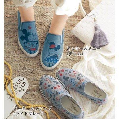 *珍珠日本代購*迪士尼Disney休閒帆布鞋 平底鞋~