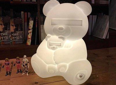 【uniisence】 UNDERCOVER BEAR FLOOR LAMP 小熊燈 漢堡 可以參考
