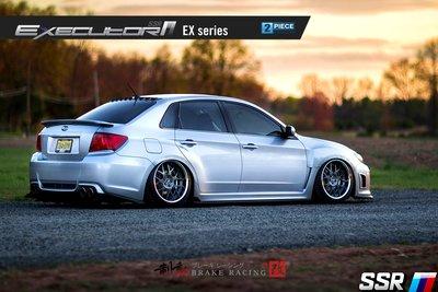 SSR EXECUTOR EX02 精緻鋁圈 BMW/LEXUS/TOYOTA/SUBARU 歡迎詢問 / 制動改