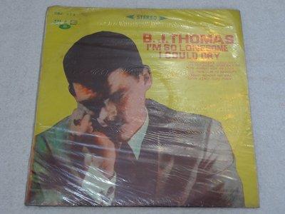 中聲黑膠唱片~B. J. THOMAS~I AM SO LONESOME I COULD CRY