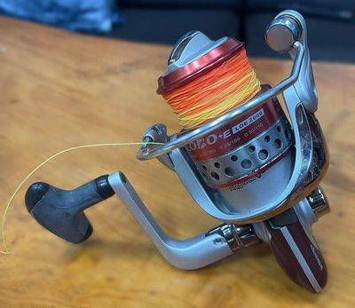 宏品二手家具館 中古釣具拍賣FR21806*OKUMA捲線器 CO130+E2000*釣魚用品 中古釣具 各式二手釣竿