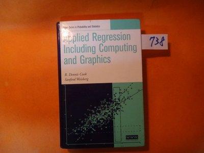 【愛悅二手書坊 15-35】 Applied Regression Including Computing and Gr