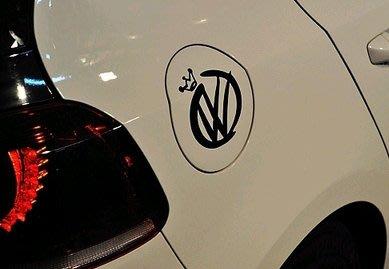 【小韻車材】VW 皇冠 福斯 GOLF  R20 GTI 貼紙 車貼 油箱蓋貼 汽車改裝