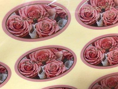 ☆╮Jessice 雜貨小鋪 ╭☆日本進口 茱麗葉 玫瑰 especially for you 貼紙 36枚$70