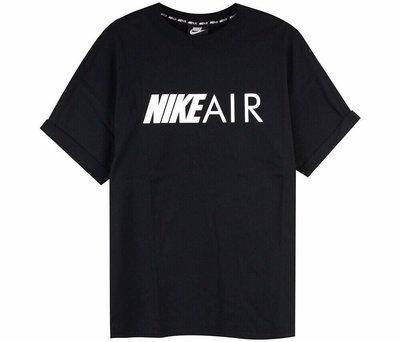 Nike AS M NSW AIR 圓領T恤 黑AR314801
