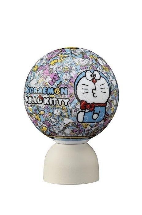 尼德斯Nydus~* 日本正版 Hello kitty 凱蒂貓 小叮噹 哆啦a夢 聯名 3D立體拼圖 LED小夜燈