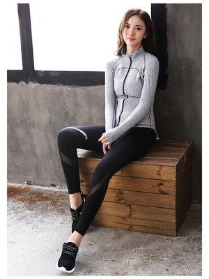 運動家 運動壓力褲 修身顯瘦 運動長褲推薦 慢跑 路跑 健身訓練褲 透氣 瑜珈褲哪裡買 有氧 跑步 爬山 B6232