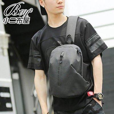BOY2小二布屋-酷黑單肩包 潮流防水休閒隨身包【NQA5131】