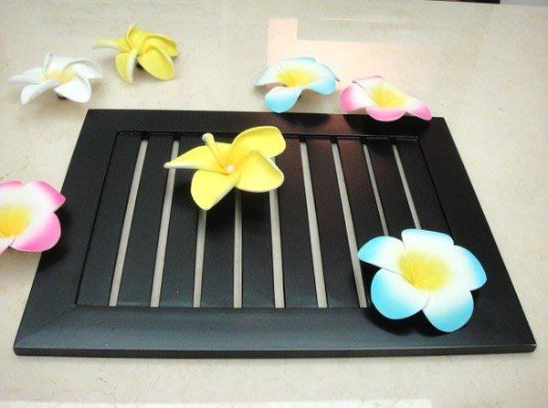 Y【永晴峇里島】巴里島風木製深色托盤,增添異國風味,居家,民宿,飯店都好用-托盤2