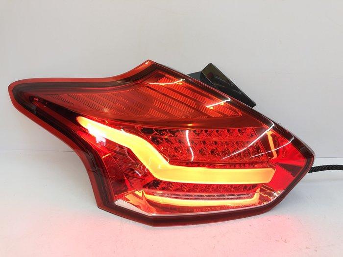 【炬霸科技】FOCUS 福克斯 全 LED 導光 尾燈 後燈 15 16 17 18 5D 紅白 光柱 光導 MK3.5
