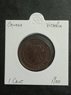 1900年加拿大 1 CENT銅幣